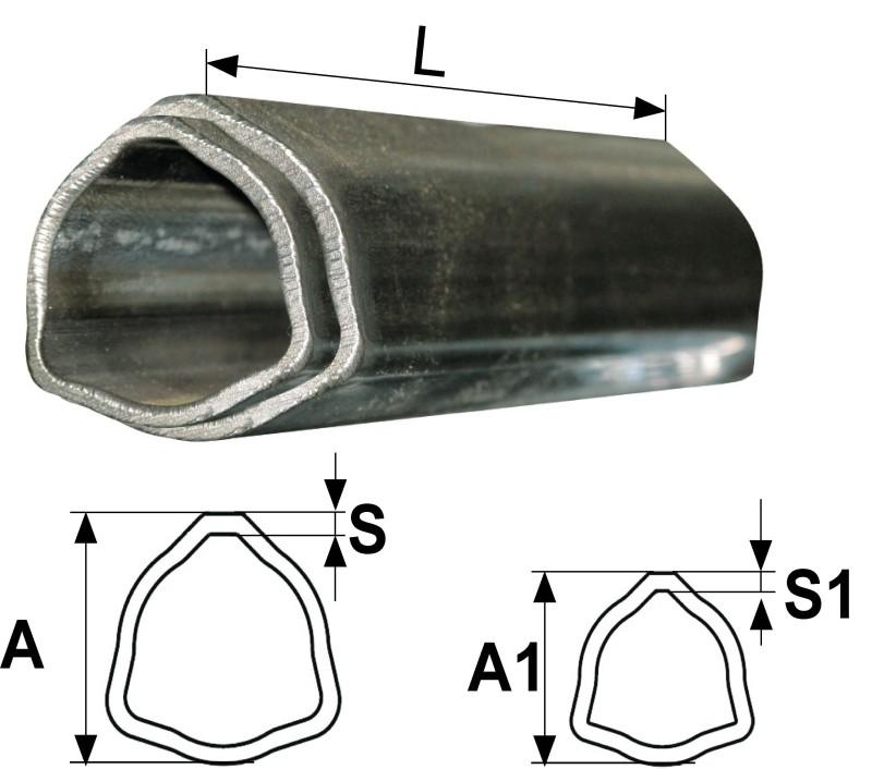 SET CEVI  T4, T45 L=550 mm TRIKOTNH,CEV V CEVI