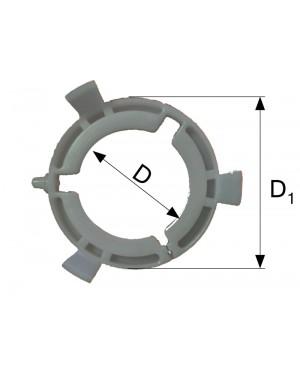 LEŽAJ PVCI ZA ,T5,T7, D=70 D1=96