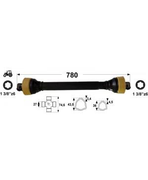 KARDAN T3 L=780 mm DIREKTNI
