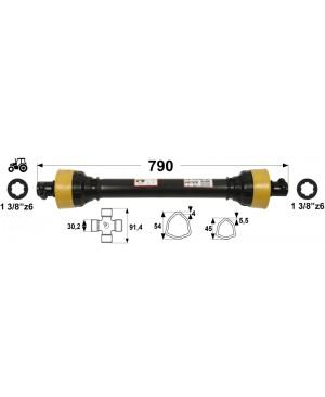 KARDAN T5  L=790 mm DIREKTNI