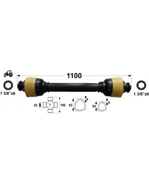 KARDAN T7  L=1100 mm DIREKTNI