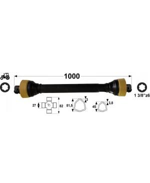 KARDAN T4  L=1000 mm DIREKTNI