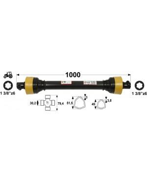 KARDAN T45 L=1000 mm DIREKTNI
