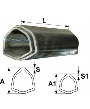 SET CEVI  T2, T3 L=550 mm TRIKOTNH,CEV V CEVI