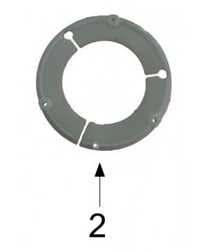 LEŽAJ PLASTIČNI T12 - T5  ,  E= 118 x 75 x12,5