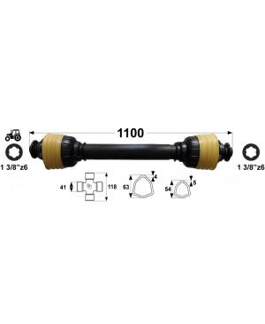 KARDAN T8 L= 1100 mm DIREKTNI