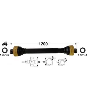 KARDAN T1 L= 1200 mm DIREKTNI