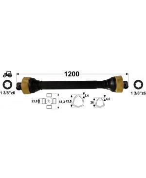 KARDAN T2 L= 1200 mm DIREKTNI