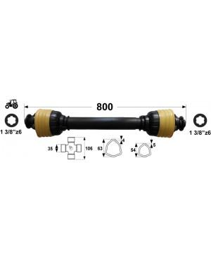 KARDAN T7 L= 800 mm DIREKTNI