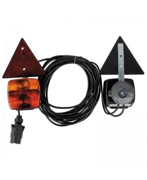 Svetilka STOP magnetne s trikotnikom