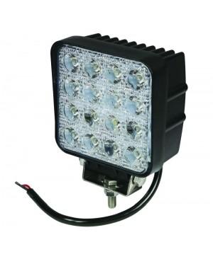ŽAROMET LED 3300Lm DELOVNI KVADRATEN 105x105 9 - 32V 48W